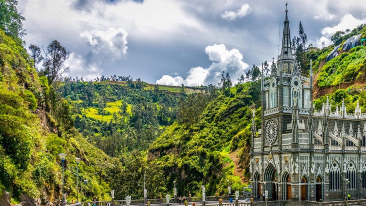 Santuário de Las Lajas considerado um dos mais bonitos do mundo