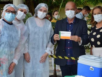 Prefeitura de Parnamirim já administrou mais de 88% das doses recebidas da Coronavac