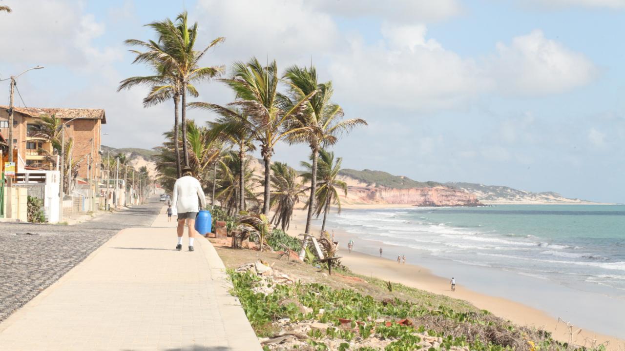Calçadão de Cotovelo já é realidade para moradores do litoral; veja os detalhes