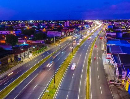 Prefeitura de Parnamirim conclui iluminação de LED em 18 bairros