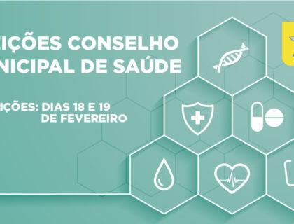 Conselho municipal de saúde abriu inscrições para eleições 2021