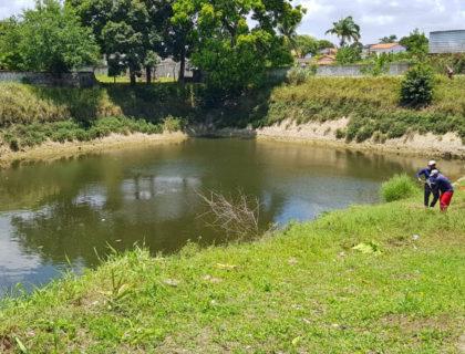 Lagoas de captação estão prontas para receber as fortes chuvas
