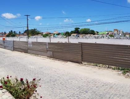 Prefeitura avança nas obras de Drenagem próximo ao Cemitério São Sebastião