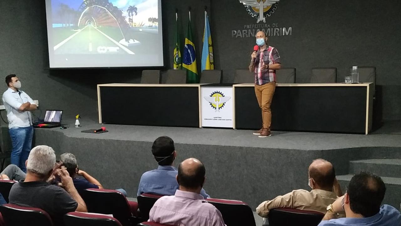 SETUDE apresenta projeto de Desenvolvimento Econômico e Urbanístico do Litoral de Parnamirim