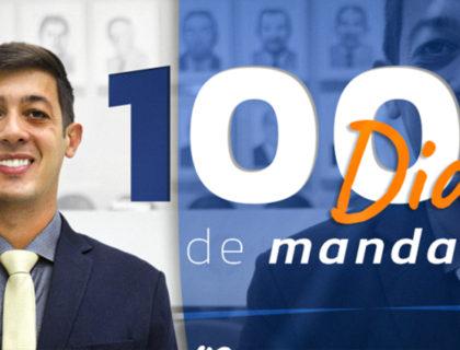 100 dias de atuação: Vereador Thiago Fernandes presta contas das primeiras iniciativas do mandato