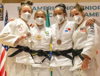Com três campeões, Brasil vai sete vezes ao pódio no Pan de judô