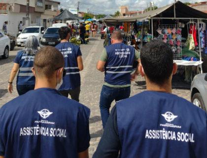 Secretaria Municipal de Assistência Social realiza ação de combate ao trabalho infantil