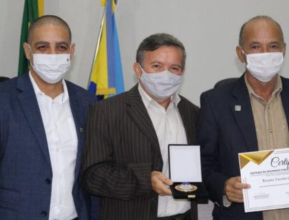 Prefeito Taveira participa de homenagem aos profissionais de segurança do município