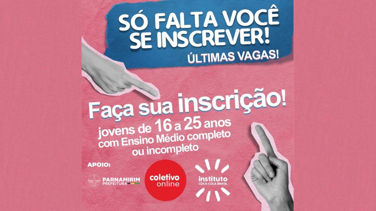 Instituto Coca Cola Brasil abre vagas de qualificação para jovens de 16 a 25 anos