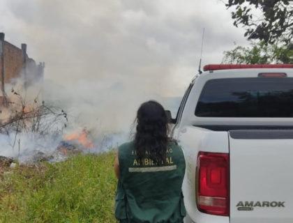 Parnamirim: Semur flagra situação de crime ambiental e notifica responsáveis