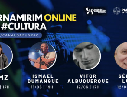 Parnamirim On-line na Cultura inicia nesta sexta (11)