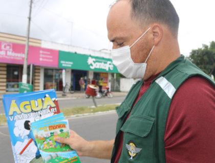 Secretaria de Meio Ambiente realiza ação educativa em Rosa dos Ventos