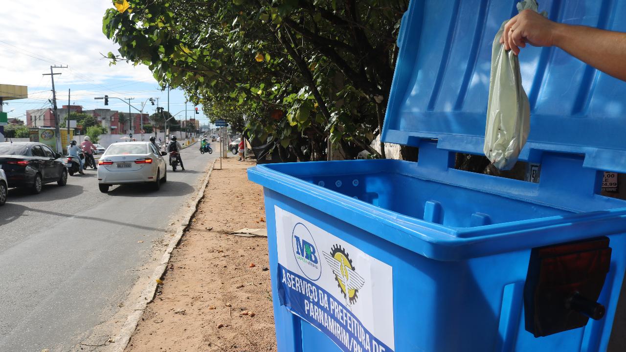 Prefeitura de Parnamirim orienta sobre uso correto dos contêineres