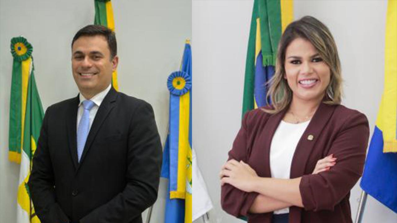 Os vereadores Ítalo Siqueira e Rhalessa de Clênio reassumem mandatos nesta segunda-feira (19)