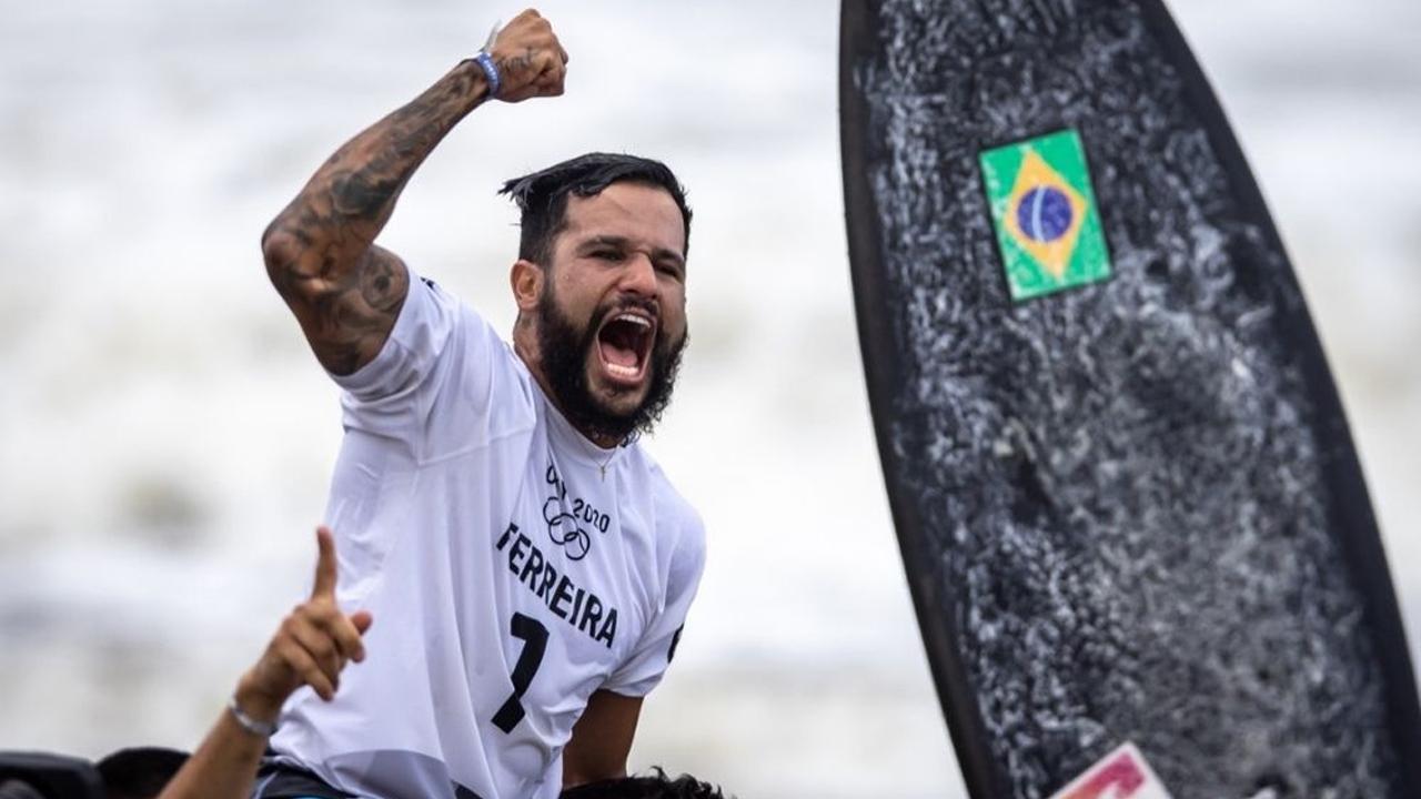 Da tampa de isopor ao ouro olímpico: a longa jornada de Ítalo Ferreira