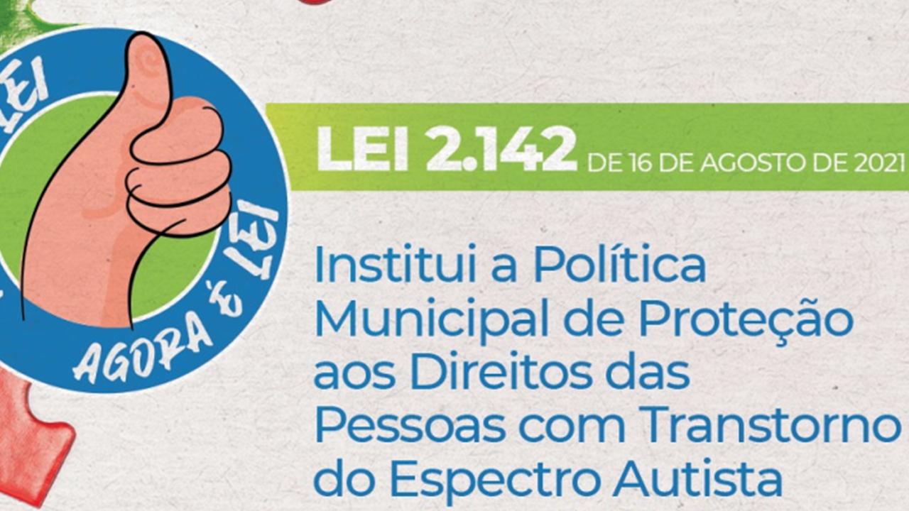 Política Municipal de Proteção aos Direitos das Pessoas com Transtorno do Espectro Autista é sancionada