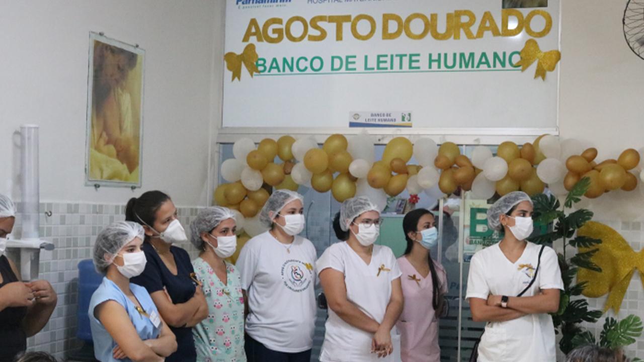Banco de leite da Maternidade Divino Amor comemora 10 anos de serviços à população