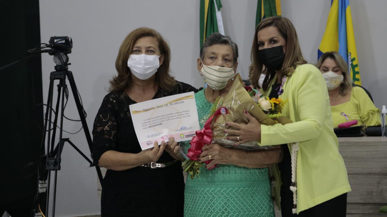 Câmara Municipal sediou o evento de premiação do Troféu Iris de Almeida