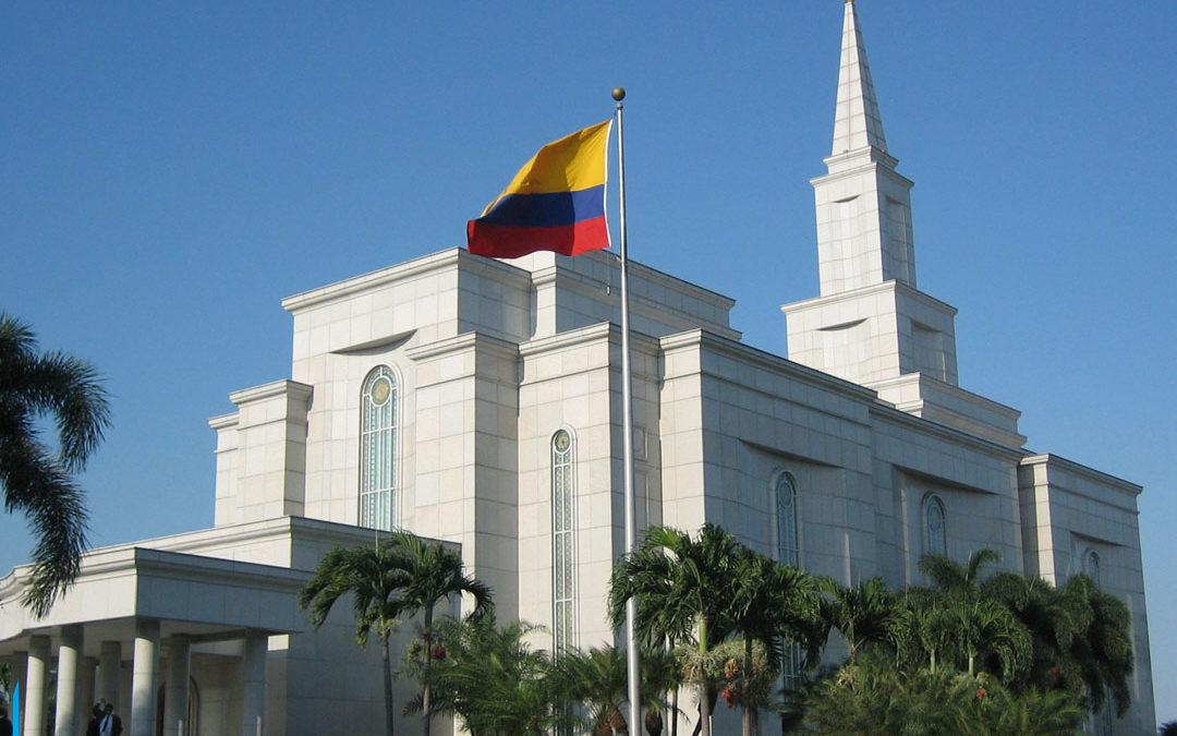Templos de A Igreja de Jesus Cristo dos Santos dos Últimos Dias são espalhados pelo mundo.