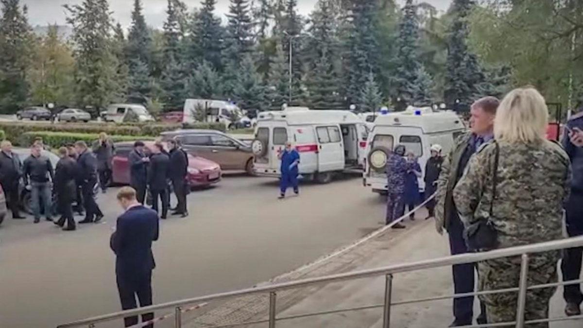 Rússia: tiroteio em universidade deixa pelo menos oito mortos