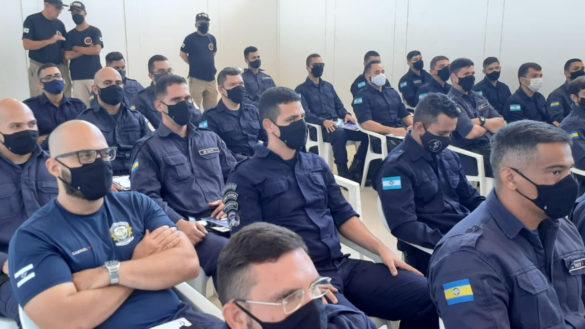 Agentes da Guarda Municipal iniciam treinamento e instrução de tiro nesta segunda-feira, 2